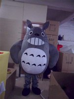 Wholesale Totoro Dress - Halloween Totoro Mascot Costume party game fancy dress adults outfits