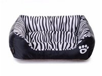 Wholesale Waterproof Pet Bed Zebra Patterns Sweety Dog House Moistureproof Pets Bed Home For Cats