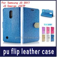 Wholesale lg stylo wallet case online – custom For LG Stylo plus Galaxy J2 Prime j7 Prime J3 emerge Wallet case Glitter Bling Flip PU Leather Diamond Rhinestone