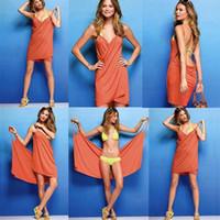 Wholesale sexy child clothing - 70*140CM Wearable Sexy Towel Bathrobe Lady Women Bath towels robe clothing Wrap