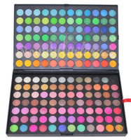 Wholesale Eyeshadow Palette 168 Color - Wholesale-Free shipping Pro 168 Full Color Makeup Cosmetic Eyeshadow Palette Eye Shadow 2 Layer