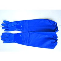 Wholesale Warm Latex Gloves - Latex Gloves Durable Housework Household Glove Kitchen Wash Dishes Cleaning Long Rubber Gloves Winter warm velvet gloves