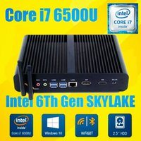 Dual Core Mini Wifi Intel Core i7-6500 Intel HD Gráficos 520 210 * 175 * 45MM 2 * HDMI Windows 7 / Windows 8 / Windows 10 / Linux