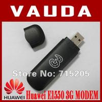 Wholesale Edge Gprs Usb 3g Modem - Wholesale- Huawei E1550 3G 2G Modem,HSDPA WCDMA EDGE GPRS GSM,for your laptop notebook Free Shipping