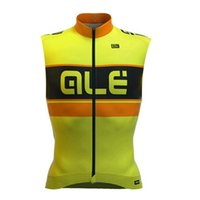 2e9567800 Tops Breathable Men ALE Pro Team cycling jersey clothing sleeveless  mountain bike clothes breathable bicycle sportswear