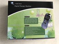 almohadillas de terapia de masaje digital al por mayor-Vender 4x Almohadillas de electrodos Decenas Acupuntura Masajeador de cuerpo completo Terapia de masaje digital Relax Estimulador muscular Masajeador adelgazante