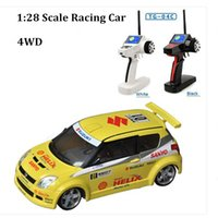 Wholesale brushless controller motor car - High speed 4wd rc truck swift model rc drift cars 1 28 remote control car toys for kids drop shipping