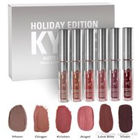 Wholesale New release Kylie Cosmetics HOLIDAY EDITION Piece Chrismas Edition in Box Matte Lipstick Collection Set