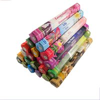 Wholesale Varieties Fragrance - Handmade Colorful Incense India Fragrant Aromatherapy Agilawood Sandalwood Incenses A Variety Of Fragrances Used For Home Trial Order 12tl A
