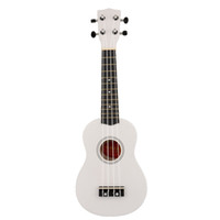 Wholesale Beginners quot Uke Ukulele Ukelele Mahalo White Soprano Christmas Children Gifts Wood Music Instrument