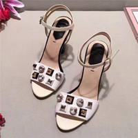 Wholesale Dress Shoes Slippers Women - 2017 New Design high quality luxury summer slippers fashion women girl's slippers