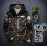 Wholesale Japanese Styled Jackets - Japanese styles Clothing 3m Reflective camo Male Camouflage Men RIPNDIP Jacket Men Women Hip Hop skate Windbreaker 3XL