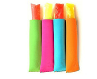 Wholesale Tool Cone - Wholesale Popsicle Holders Pop Ice Sleeves Freezer Pop Holders 15x4.2cm for Kids Summer Kitchen Tools 10 color