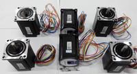 leadshine cnc venda por atacado-Motor de passo Leadshine de 2 fases 57HS NEMA23 Série 57HS22-A Unipolar 3.5A CNC