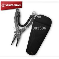 Wholesale Winmax stock cm multifunctional fly fishing pliers lure tools Scissors aluminium fishing pliers Fishing Tackle Boxes
