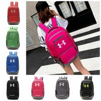 Wholesale Travel Backpack Camping - 7 Colors UA Backpack Casual Hiking Camping Backpacks Waterproof Travel Outdoor Bags Teenager School Bag CCA7085 10pcs