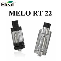 Wholesale Er Glass - Authentic Eleaf MELO RT 22 Atomizer 3.8ml e-Liquid Capacity Retractable Top Atomizer with ER 0.3ohm Coil Head