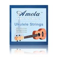 """Wholesale Wholesale Ukulele Strings - 10 set Original Amola Ukulele Strings Soprano Concert Tenor Ukulele Strings Nylon 21"""" 23"""" 26"""" Ukelele Aquila Strings Nylgut"""