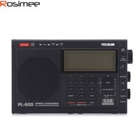 radio ssb aire al por mayor-Wholesale-TECSUN PL-600 Sintonización digital Radio FM de banda completa estéreo MW / SW-SBB / AIR / PLL Radio Ricevitore FM LW MW LW PLL SSB Radio