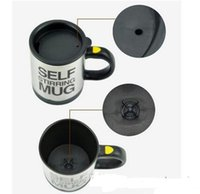 Wholesale Automatic Stirring Coffee Cup - Wholesale Self Stirring Coffee Cup Mugs Stainless Steel Electric Lazy Automatic Mixing Tea Milk Coffee Cup Office Mugs