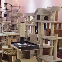 corrugated paper groihandel-Treppen Katzenspielzeug Klettergerüst Großhandel Hersteller Maßgeschneiderte Crawl Spielzeug Rahmen Pet House Wurf Wellpappe Hohe Qualität 95aj R