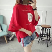 Wholesale Korean Fashion Wear For Summer - Short sleeves T-shirt for women Korean edition The students wear the new clothes in summer clothes Summer 2010 bf, a sleeveless dress
