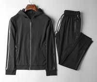 Wholesale Track Suit Pants Men - Men's fitness soccer tracksuit men sportswear mens suit tracksuits jogger pants track suit~sweat suits training suit~suits for men