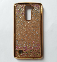 Para LG Stylo 2 Plus MS550 Stylus LS775 K7 K10 X Power Tribute HD LS676 Preço de atacado TPU Rhinestone Diamond Bling Glitter Case