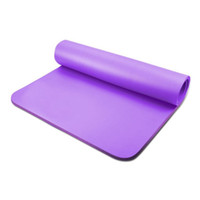 Wholesale Gym Exercise Mats - Wholesale-EVA Yoga Mat Pad 173cm*61cm*0.6cm Sports Soft Gymnastics Mat Fitness Gym Exercise Leisure Weight Lose 10mm Thick