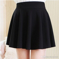 Wholesale Korean Clothes For Winter - New Summer style sexy Skirt for Girl lady Korean Short Skater Fashion female mini Skirt Women Clothing Bottoms