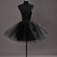 Wholesale hoops for girls dresses - Petticoat hoop skirt panniers underskirt crinoline for bridesmaid dress prom dress little girl dress