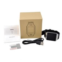 Wholesale smart watches for sony online – DZ09 Smart Watch Bluetooth Anti lost Wrist Watches For iPhone Android Samsung HTC Sony Nokia Wearable Smart Watches