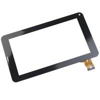 "Wholesale Screen For Freelander Tablet - Wholesale- 7"" Inch OEM Compatible with HS1248 P2256 Touch Screen Digitizer Sensor Lens for Freelander PD100 Tablet Black"