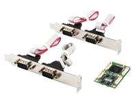 Wholesale Pcie Port Serial Card - MINI PCI-E to 4 port RS422 485 industrial serial port card MINI PCIE TO 422 IO-MPCE354A-4S