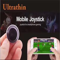 Wholesale Cheap Ps4 - Mini Mobile joystick controller Game Joy Controller Dual-Stick Cheap Popular Mini Roker Sucker Joyful Game Accessories for cell phone