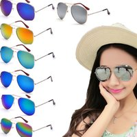Wholesale Fishing glasses women sunglasses sunglas Transparent eyes yurt Driving sunglasses Gold frame silver frame selection of colour