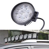 12 kapalı yol lambası toptan satış-27 W 12 V Spot LED İş Işık Lambası Tekne Traktör Kamyon Off-road SUV Için