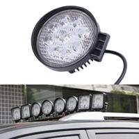 ingrosso lampada di lavoro principale 12v-Lampada da lavoro a LED Spot da 27W 12V per camion fuoristrada SUV