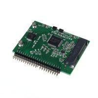 precio del cable ide al por mayor-Venta al por mayor-precio de fábrica MOSUNX venta caliente mSATA SSD a 44 Pin IDE Convertidor adaptador como 2.5 pulgadas IDE HDD para el envío de la gota del ordenador portátil