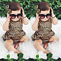 Wholesale Next Kids Clothes Girls - Newborn Kids Toddler Baby Girl Clothes Bodysuit Infant Romper Dress Sleeveless Jumpsuit Playsuit Outfits Next Kids Clothing Boutique Outfits