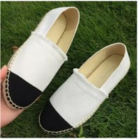 Wholesale Walking Shoes Ladies - 2017 New women Casual canvas shoes Spring Espadrilles woman high quality Cloth shoes Fashion walking shoes Two tone Lady Canvas sneakers 88