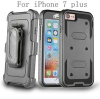 Wholesale K7 Phone - For iphone7 plus Google Pixel XL For LG K7 Tribute 5 K10 F670 Hybrid Armor phone Case Holster Combo Shockproof cover Belt clip
