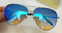 Wholesale Men Fashion Simple Coat Style - New desginer popular sunglasses 3082 pilots frame fashion simple style Coated reflective lens top quantity with original box
