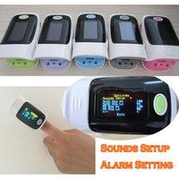 Wholesale Oxygen Saturation Monitor Alarm - ALARM Setting OLED Fingertip Pulse Oximeter Blood Oxygen SpO2 saturation oximetro monitor oxymetre oximetro de dedo