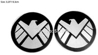 Wholesale Baseball Caps Marvel - S.H.I.E.L.D. (AVENGERS) Marvel SHIELD AGENT Movie TV Series Costume Cosplay Embroidered Emblem iron on patch Baseball Cap Badge