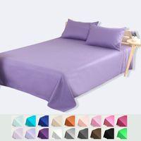 Wholesale Wholesale Linen Sheets Bedding - Bed Sheets Single Piece Pure Color Printing Cotton Bed Sheets Cotton Sheets Four Seasons Linen Cloth Various Colors To Choose