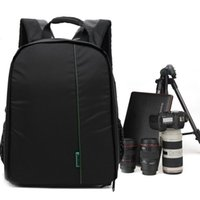 Wholesale-New Pattern Multi-Functional Tool Sac à dos imperméable Carema Sac à bandoulière numérique DSLR Caméra vidéo SLR Caméra pour photographe