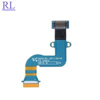 Wholesale Galaxy Tab Lcd Flex - 10pcs lot For Samsung Galaxy Tab 7.0 Plus P3100 P6200 P3110 Connect Mainboard LCD Flex Cable Ribbon Replacement