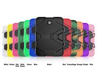 Wholesale galaxy mini skin - Military Heavy Duty ShockProof Rugged Impact Hybrid Tough Armor Case For IPAD MINI Galaxy Tab P3200 T230 T330 T350 T280 T377 T710 1pc lot
