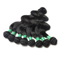 Wholesale cheap black hair dye - Cheap Brazilian Body Wave Good Brazilian Virgin Hair Body Wave Brazilian Hair Bundles Unprocessed Human Hair Extension, 8bundles lot